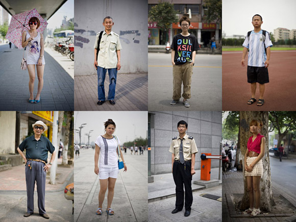 A selection of images from the project We Chinese - 100 portrait