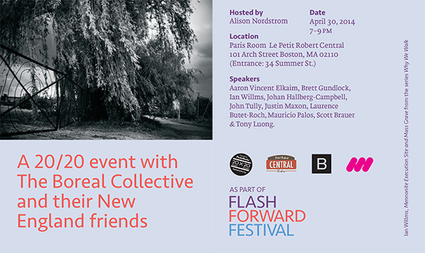 April 30 - Flash Forward Festival with Boreal Collective