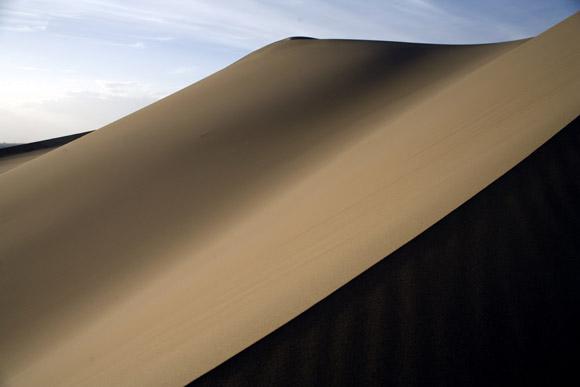 Scenes of the Gobi Desert - near Dunhuang, Gansu Province, China.