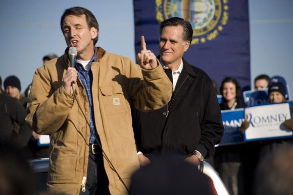 Mitt Romney in Manchester NH
