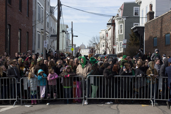 2013 St. Patrick's Day Parade in South Boston, MA