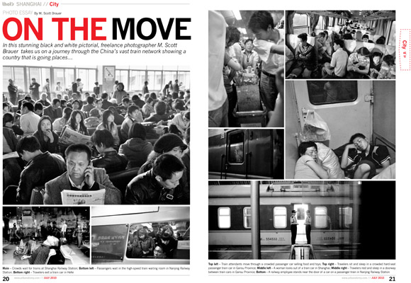 China Railway published in July 1, 2010 - That's Shanghai.