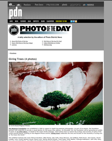 Featured on PDN Photo of the Day - Dec. 3, 2010