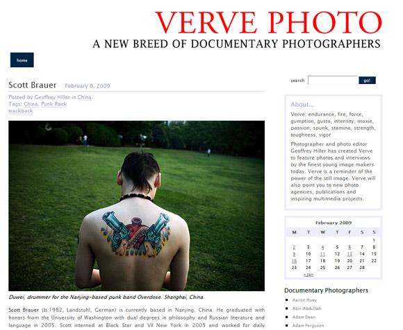 M. Scott Brauer featured on Verve Photo